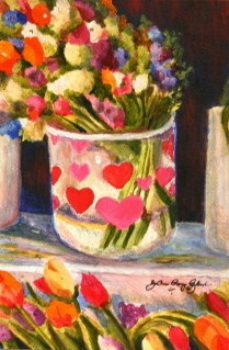 """Love for Sale"" original fine art by JoAnne Perez Robinson"