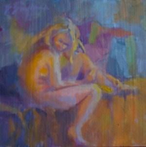 """Study of Zhanna"" original fine art by Bruce Bingham"