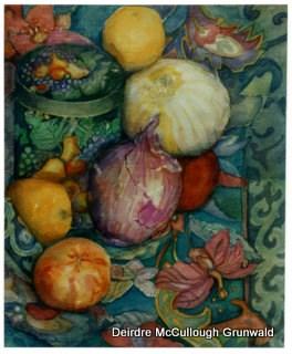 """Title Unknown"" original fine art by Deirdre McCullough Grunwald"