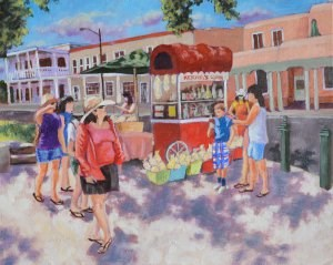 """Kernel's Corn"" original fine art by Robert Frankis"