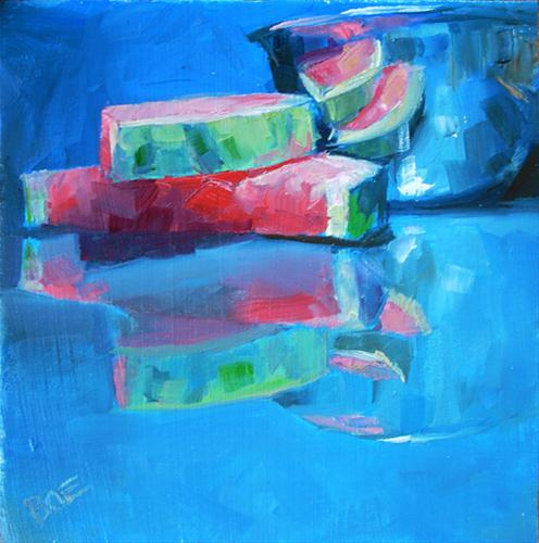 """A Slice Of Still Life"" original fine art by Karen Boe"