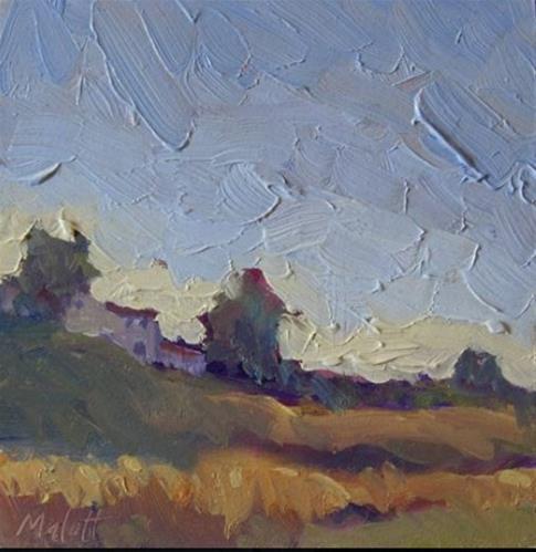 """$80 Archives Art all paintings from 2006-2008 Country Villa"" original fine art by Heidi Malott"