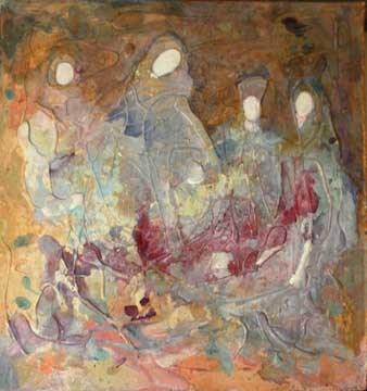 """The Muses"" original fine art by Kara Butler English"