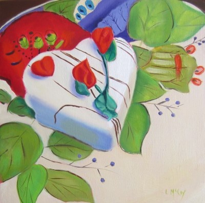 """I Second That Emotion"" original fine art by Linda McCoy"