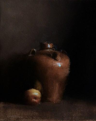 """""""Pot"""" original fine art by Neil Carroll"""