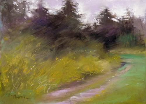 """Windswept"" original fine art by Barbara Benedetti Newton"