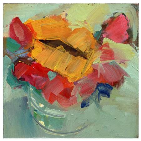 """2627 trading eights"" original fine art by Lisa Daria"