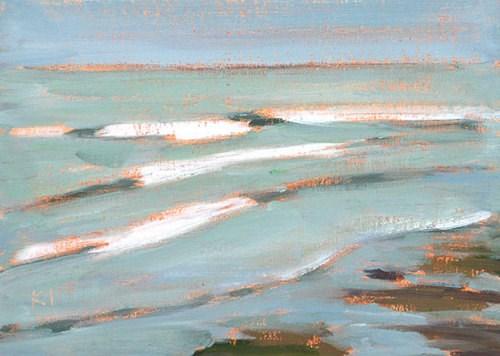 """Surf, Ocean Beach"" original fine art by Kevin Inman"
