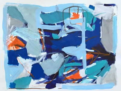 """We Jazz June"" original fine art by Pamela Munger"