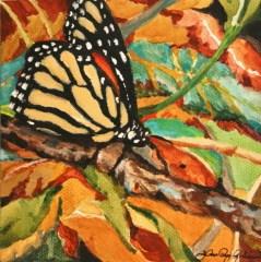 """Now Arriving"" original fine art by JoAnne Perez Robinson"