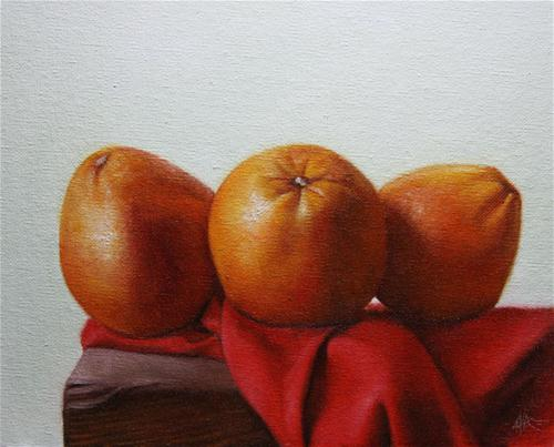 """Blood Oranges"" original fine art by Jonathan Aller"