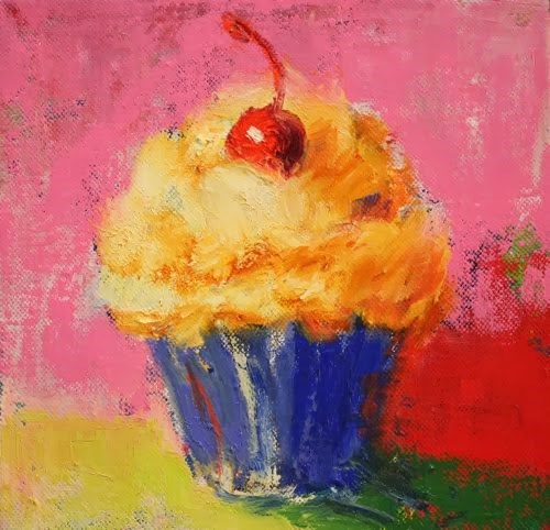 """Happy Birthday, Contemporary Still Life Paintings by Arizona Artist Amy Whitehouse"" original fine art by Amy Whitehouse"