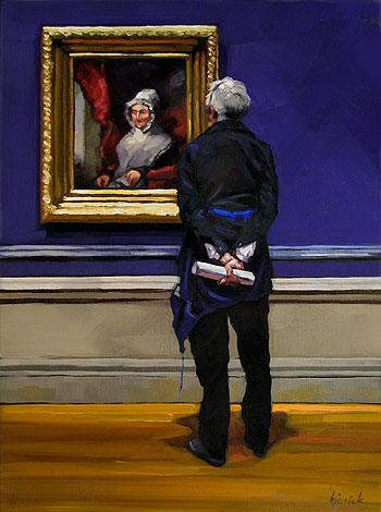 """Federal Case"" original fine art by Karin Jurick"