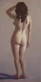 """""""NUDE STUDY #5"""" original fine art by Helen Cooper"""