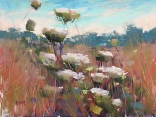 """Workshop Report"" original fine art by Karen Margulis"