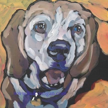 """Daisy, July 1"" original fine art by Kat Corrigan"