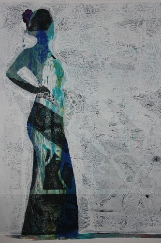 """""""Resilience, Contemporary Figure Painting by Arizona Artist Amy Whitehouse"""" original fine art by Amy Whitehouse"""