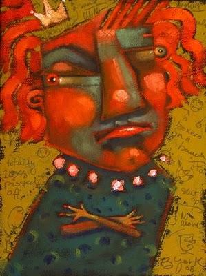 """Princess TPO"" original fine art by Brenda York"
