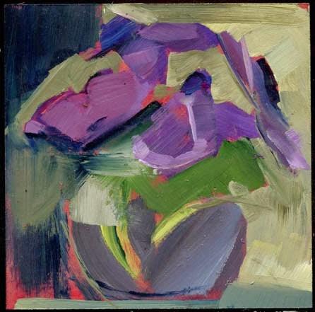"""2098 Mussels"" original fine art by Lisa Daria"