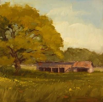 """Homestead Remnants"" original fine art by Laurel Daniel"