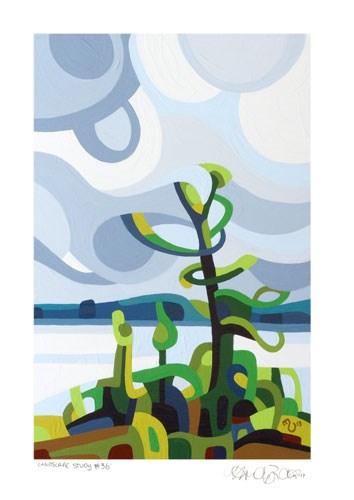 """Landscape Study #36"" original fine art by Mandy Budan"