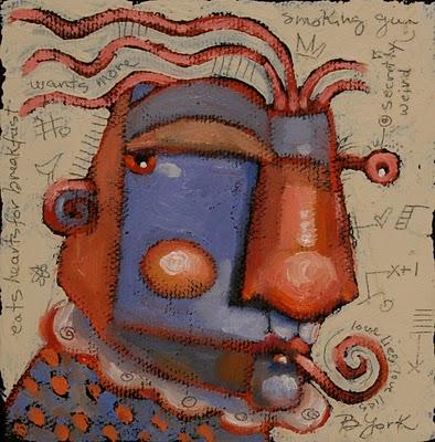 """Smooth Operator"" original fine art by Brenda York"