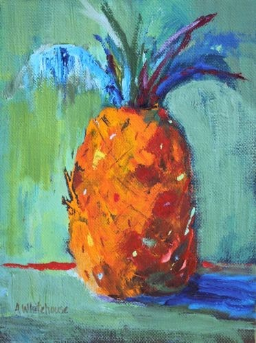 """""""Hospitality 25, Contemporary Still Life Paintings by Arizona Artist Amy Whitehouse"""" original fine art by Amy Whitehouse"""