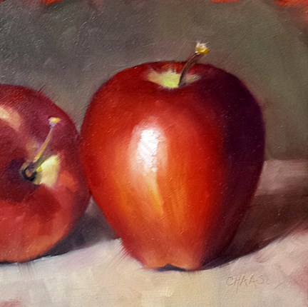 """""""Traditional Apples"""" original fine art by Cindy Haase"""