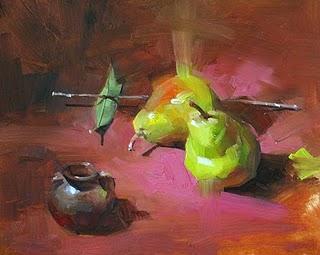"""Green Energy --- Sold"" original fine art by Qiang Huang"