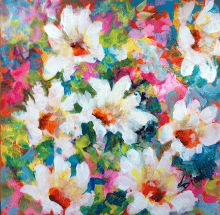 """Express Yourself"" original fine art by Sue Dion"