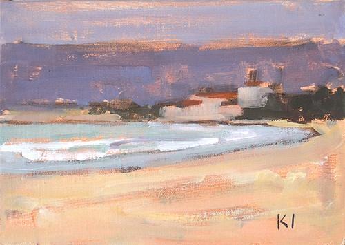 """Clouds in Coronado"" original fine art by Kevin Inman"