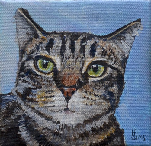"""Charlie"" original fine art by Heather Sims"