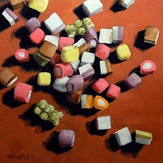 """Dolly Mix"" original fine art by Michael Naples"