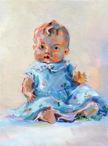 """Ruthie"" original fine art by Kimberly Santini"