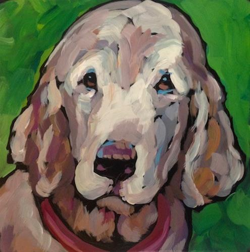"""Buddy"" original fine art by Kat Corrigan"
