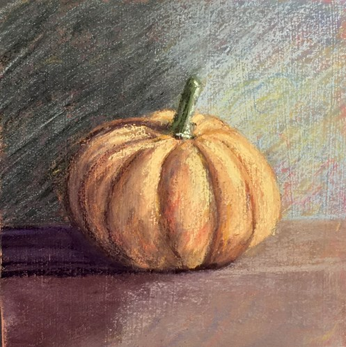 """""""Autumn Crown"""" original fine art by Cristine Kossow"""