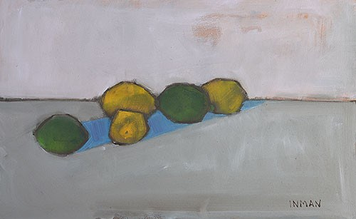 """""""Lemons and Limes"""" original fine art by Kevin Inman"""