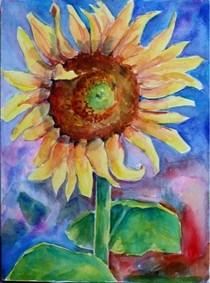 """Summers last breath"" original fine art by Maggie Flatley"