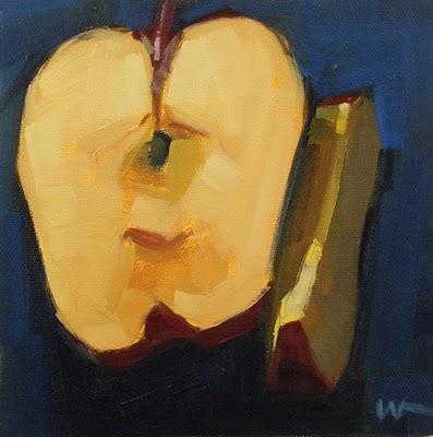 """Besides"" original fine art by Carol Marine"