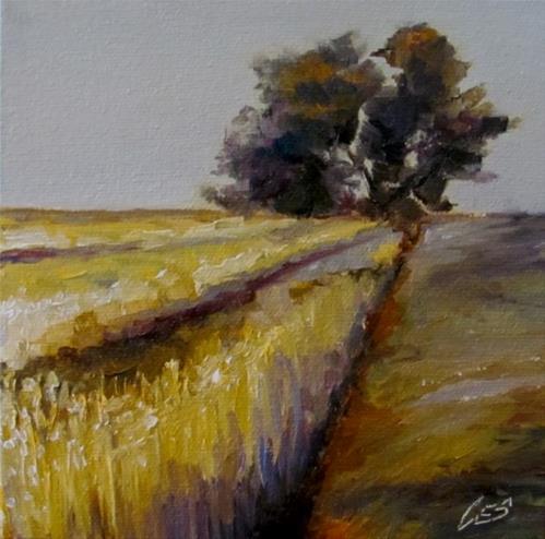 """""""Lonesome Tree I"""" original fine art by ~ces~ Christine E. S. Code"""