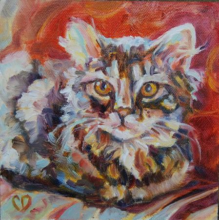 """""""Her Majesty"""" original fine art by Carol DeMumbrum"""