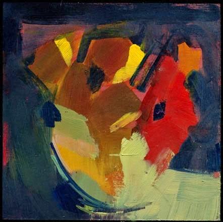 """""""2077 Bowl"""" original fine art by Lisa Daria"""