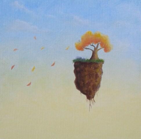 """Fall Breeze"" original fine art by Staar Caswell"
