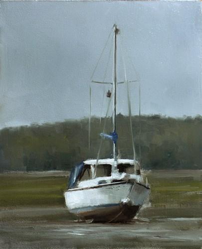 """""""Boat"""" original fine art by Neil Carroll"""
