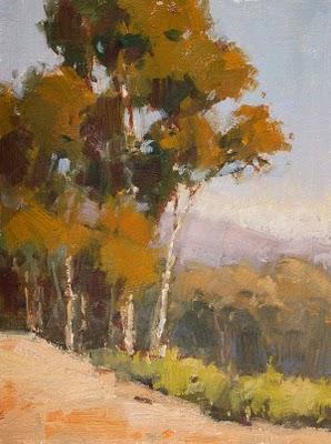 """""""Afternoon Overlook"""" original fine art by Laurel Daniel"""