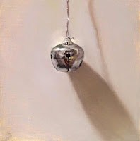 """""""Silver Bell painting"""" original fine art by Abbey Ryan"""