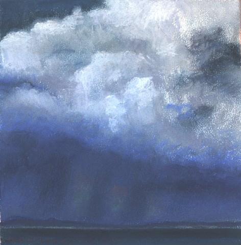 """""""Irish Cloudscape V"""" original fine art by Joe Fitzgerald"""