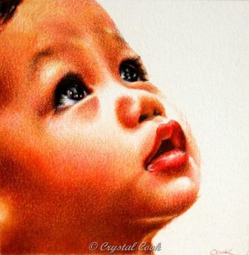 """""""Shimmer"""" original fine art by Crystal Cook"""