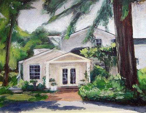 """""""Front Porch 2 (revisited)"""" original fine art by J. Farnsworth"""