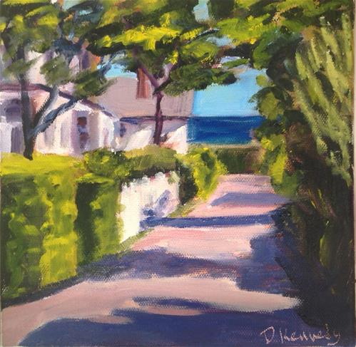 """""""Provincetown Wanderings"""" original fine art by Debra Kennedy"""